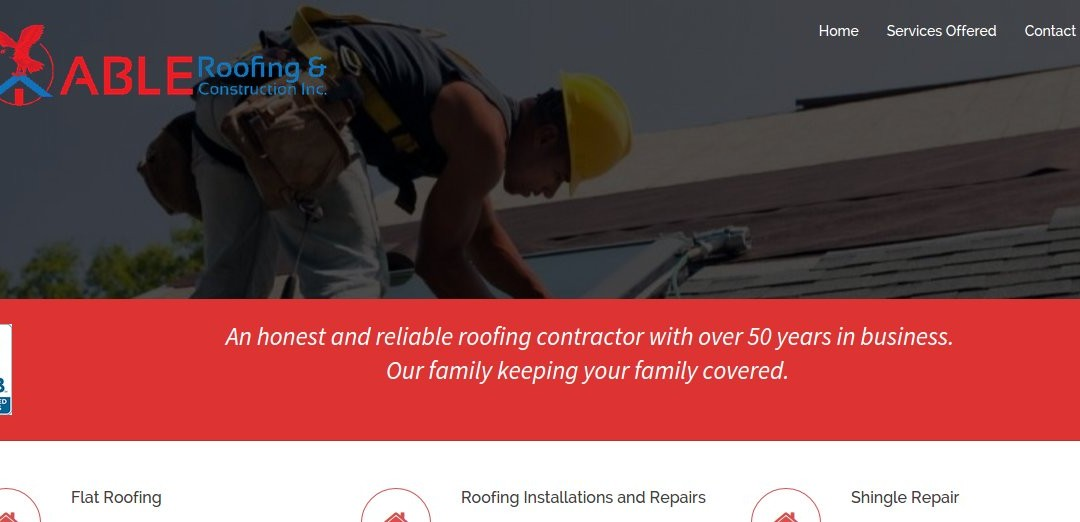 Abel Roofing & Construction Inc.